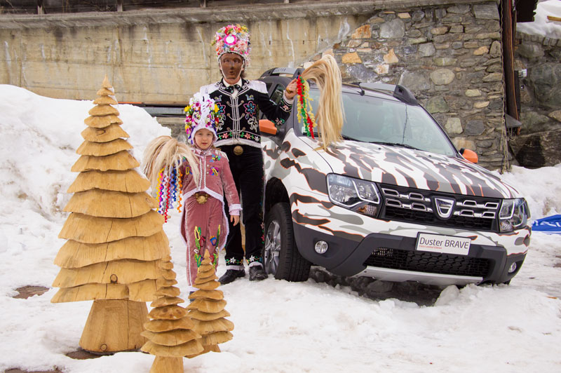 Presentazione Dacia Duster 2014 Hotel Des Alpes